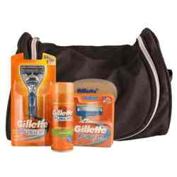 Gillette Fusion Grooming Kit (Free Travel Bag)