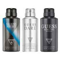 Guess Dare, Night, Seductive Homme Pack of 3 Deodorants