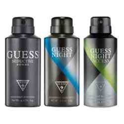 Guess Night Access, Night, Seductive Homme Pack of 3 Deodorants