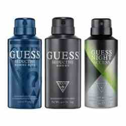 Guess Night Access, Seductive Homme Blue, Seductive Homme Pack of 3 Deodorants