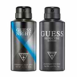 Guess Seductive And Night Homme Pack Of 2 Deodorants