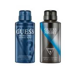 Guess Seductive Homme Blue, Night Pack of 2 Deodorants