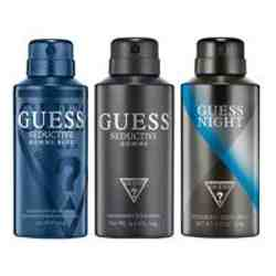 Guess Seductive Homme Blue, Night, Seductive Homme Pack of 3 Deodorants