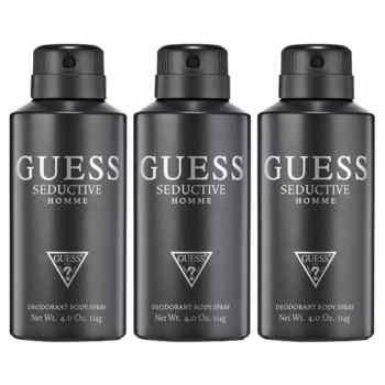 Guess Seductive Pack Of 3 Deodorants