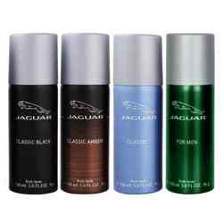 Jaguar Black, Blue, Amber And Green Value Pack Of 4 Deodorants