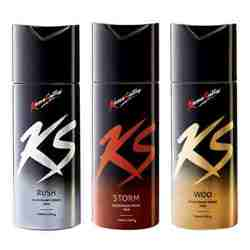 Kamasutra Rush, Storm, Woo Pack of 3 Deodorants