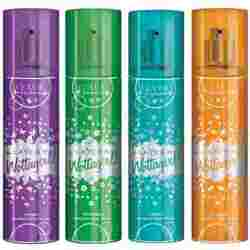 Layerr Wottagirl Classic Heaven Blossom Evergreen Fantasy Pack Of 4 Body Sprays