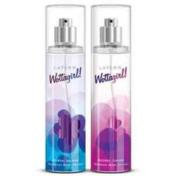 Layerr Wottagirl Secret Crush And Mystic Island Pack Of 2 Body Mists