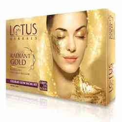 Lotus Herbals Radiant Gold One Time Use Facial Kit