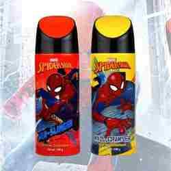 Marvel Spiderman Web Slinger And Wall Crawler Pack Of 2 Deodorants