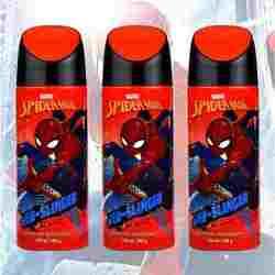 Marvel Spiderman Web Slinger Pack Of 3 Deodorants
