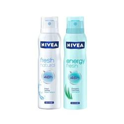 Nivea Energy Fresh, Fresh Natural Pack of 2 Deodorants