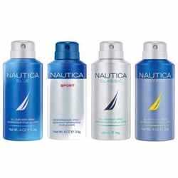 Nautica Pack Of 4 Deodorants - Blue, Classic, Voyage And Voyage Sport