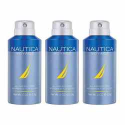 Nautica Voyage Pack Of 3 Deodorants