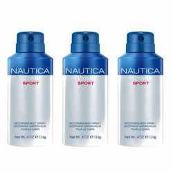 Nautica Voyage Sport Pack Of 3 Deodorants