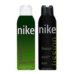 Nike Fission And Casual Pack of 2 Deodorants