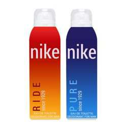 Nike Pure And Ride Pack of 2 Deodorants