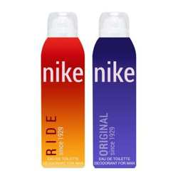 Nike Ride And Original Pack of 2 Deodorants