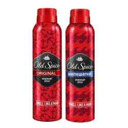 Old Spice Original And WhiteWater Pack Of 2 Strong Deodorants