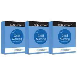 Park Avenue Good Morning Pack Of 3 After Shave Lotions