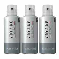 Park Avenue Pack Of 3 Voyage Deodorants