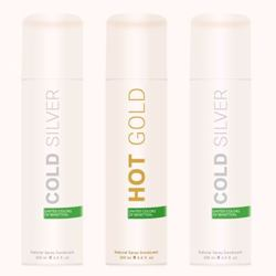 United Colors Of Benetton 2 Cold Silver And 1 Hot Gold Pack Of 3 Deodorants