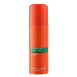 United Colors Of Benetton Orange Natural No Gas Deodorant Spray