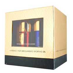 Versace 19.69 Italia Gift Pack Of 4 Deodorants