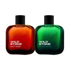 Wild Stone Forest Spice And Night Rider Pack Of 2 Perfumes