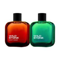 Wild Stone Hydra Energy And Night Rider Pack Of 2 Perfumes