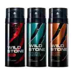 Wild Stone Red, Hydra Energy, Night Rider Pack of 3 Deodorants
