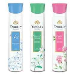 Yardley London English Rose, Jasmine, Lace Satin Pack of 3 Deodorants