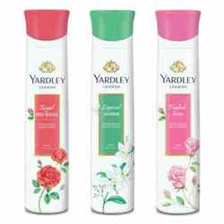 Yardley London English Rose, Jasmine, Red Roses Pack of 3 Deodorants