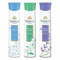 Yardley London Jasmine, Lace Satin, English Lavender Pack of 3 Deodorants