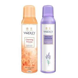 Yardley London Charming Princess, English Lavender Pack of 2 Deodorants