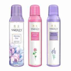 Yardley London Morning Dew, English Rose, English Lavender Pack of 3 Deodorants