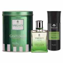 Yardley Gentleman Adventure Perfume And Deodorant Combo