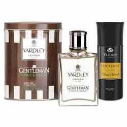 Yardley Gentleman Citrus Woods Perfume And Deodorant Combo