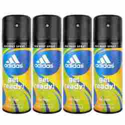 Adidas Get Ready Value Pack Of 4 Deodorants