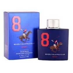 Beverly Hills Polo Club Sport No 8 Perfume Spray