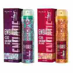 Engage G2 And G3 Pack Of 2 No Gas Cologne Deodorant