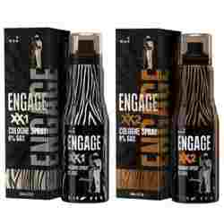 Engage XX1 And XX2 Pack Of 2 No Gas Cologne Deodorant