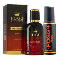 Fogg Beautiful Secret Eau De Parfum And Splendid Deodorant Combo