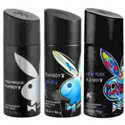 Playboy Hollywood, Malibu, New York Pack of 3 Deodorants for men