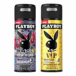 Playboy New York, VIP Pack of 2 Deodorants for men