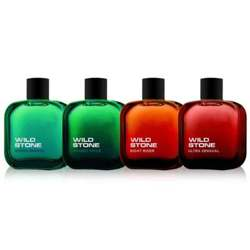 Wild Stone Ultra Sensual, Hydra Energy, Night Rider And Forest Spice Pack Of 4 Perfumes