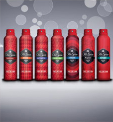 flat 25% Off old spice deos